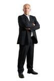 Σοβαρός επιχειρηματίας που στέκεται στο στούντιο Στοκ φωτογραφίες με δικαίωμα ελεύθερης χρήσης