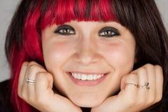 σοβαρός εφηβικός κοριτ&sigma Στοκ εικόνα με δικαίωμα ελεύθερης χρήσης