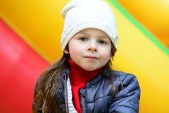 Σοβαρό πορτρέτο μικρών κοριτσιών Στοκ φωτογραφίες με δικαίωμα ελεύθερης χρήσης