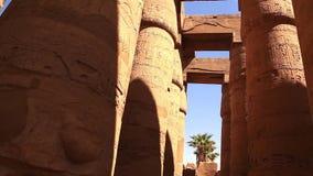 Σοβαρό τη νύχτα πλήρες HD βίντεο Luxor απόθεμα βίντεο