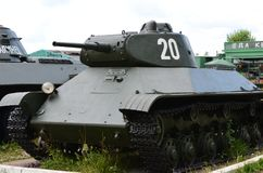 Σοβιετική ελαφριά δεξαμενή τ-50 στοκ φωτογραφία
