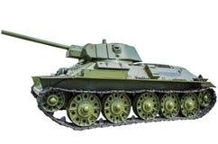 Σοβιετική δεξαμενή τ-34/76 Στοκ Εικόνες