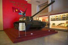 Σοβιετική δεξαμενή τ-54B στο μουσείο του στρατού των ανθρώπων Ανόι Βιετνάμ Στοκ φωτογραφία με δικαίωμα ελεύθερης χρήσης