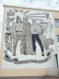 Σοβιετική προπαγάνδα Στοκ εικόνα με δικαίωμα ελεύθερης χρήσης