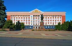 Σοβιετικοί μνημείων Λένιν & Στοκ Εικόνες