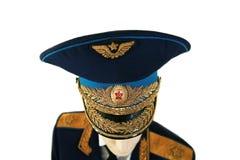 Σοβιετικός ανώτερος υπάλληλος στρατού marshal σε ομοιόμορφο Στοκ εικόνες με δικαίωμα ελεύθερης χρήσης