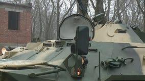 Σοβιετικός θωρακισμένος στράτευμα-μεταφορέας απόθεμα βίντεο