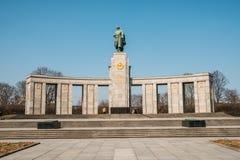 Σοβιετικός πόλεμος αναμνηστικό Tiergarten στο Βερολίνο, Γερμανία Στοκ Εικόνα