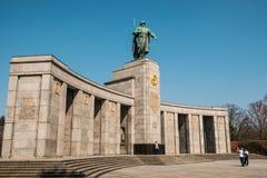 Σοβιετικός πόλεμος αναμνηστικό Tiergarten στο Βερολίνο, Γερμανία Στοκ φωτογραφία με δικαίωμα ελεύθερης χρήσης