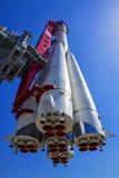 Σοβιετικός πύραυλος στο κέντρο έκθεσης στη Μόσχα, Ρωσία Στοκ εικόνες με δικαίωμα ελεύθερης χρήσης