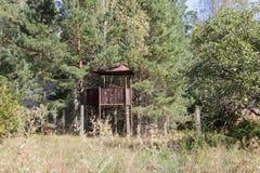 Σοβιετικός πύργος φυλάκων Στοκ εικόνα με δικαίωμα ελεύθερης χρήσης