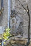 Σοβιετικός συμβολισμός στην αρχιτεκτονική στοκ εικόνα
