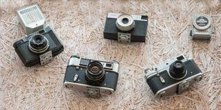 Σοβιετικός φωτογραφικός εξοπλισμός Στοκ Εικόνα