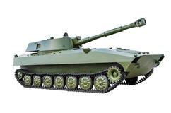 Σοβιετικό αυτοπροωθούμενο πυροβόλο όπλο 2Ð ¡ 5 152 χιλ. Στοκ φωτογραφία με δικαίωμα ελεύθερης χρήσης