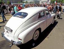 Σοβιετικό εκτελεστικό φορείο fastback gaz-M20 Pobeda αυτοκινήτων (νίκη) Στοκ Εικόνες