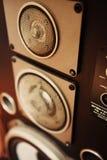 Σοβιετικό ηχητικό σύστημα - καλός ήχος ελεύθερη απεικόνιση δικαιώματος