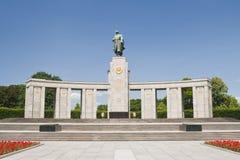 Σοβιετικό μνημείο στρατιωτών - Βερολίνο Γερμανία στοκ εικόνες