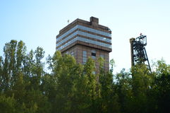 Σοβιετικό ορυχείο Στοκ εικόνα με δικαίωμα ελεύθερης χρήσης