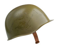 Σοβιετικό στρατιωτικό κράνος Στοκ Εικόνα