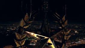 Σοβιετικό χρυσό αστέρι απόθεμα βίντεο