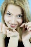 σοκολάτα ι αγάπη Στοκ φωτογραφία με δικαίωμα ελεύθερης χρήσης
