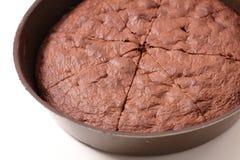σοκολάτα κέικ εύγευστη Στοκ Εικόνες