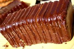σοκολάτα κέικ εύγευστη Στοκ εικόνα με δικαίωμα ελεύθερης χρήσης