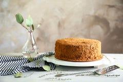 σοκολάτα κέικ νόστιμη Στοκ Εικόνες