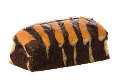 σοκολάτα κέικ που απομ&omicro στοκ εικόνες με δικαίωμα ελεύθερης χρήσης