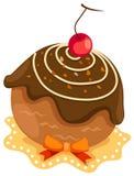 σοκολάτα κέικ διανυσματική απεικόνιση