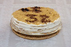 σοκολάτα κέικ 32 γενεθλί&omega Στοκ φωτογραφίες με δικαίωμα ελεύθερης χρήσης