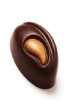 σοκολάτα καραμέλας στοκ εικόνες