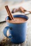 σοκολάτα καυτή στοκ εικόνες