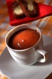 σοκολάτα καυτή Στοκ Εικόνα