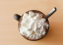 σοκολάτα καυτή Στοκ εικόνες με δικαίωμα ελεύθερης χρήσης