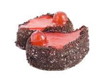 σοκολάτα κερασιών κέικ Στοκ Εικόνες