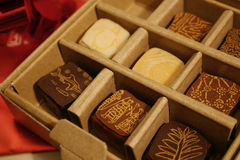 σοκολάτα κιβωτίων Στοκ Εικόνα