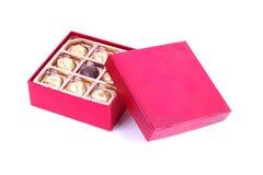 σοκολάτα κιβωτίων Στοκ φωτογραφία με δικαίωμα ελεύθερης χρήσης