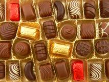 σοκολάτα μερικοί Στοκ εικόνες με δικαίωμα ελεύθερης χρήσης