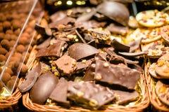 Σοκολάτα με τα καρύδια Στοκ φωτογραφία με δικαίωμα ελεύθερης χρήσης