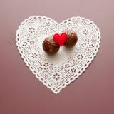 Σοκολάτα με την αγάπη Στοκ φωτογραφία με δικαίωμα ελεύθερης χρήσης