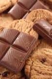 σοκολάτα μπισκότων Στοκ φωτογραφία με δικαίωμα ελεύθερης χρήσης