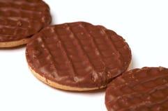 σοκολάτα μπισκότων Στοκ Φωτογραφίες