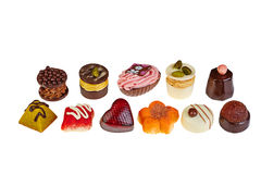 Σοκολάτα πολυτέλειας ανάμεικτη Στοκ εικόνα με δικαίωμα ελεύθερης χρήσης