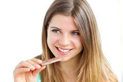σοκολάτα που ευχαριστ στοκ φωτογραφίες με δικαίωμα ελεύθερης χρήσης