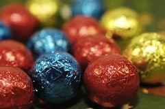 σοκολάτα σφαιρών Στοκ Φωτογραφίες