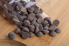σοκολάτα τσιπ Στοκ εικόνα με δικαίωμα ελεύθερης χρήσης