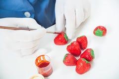 Σοκολάτα χρωμάτων ζαχαροπλαστών στοκ εικόνες με δικαίωμα ελεύθερης χρήσης