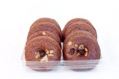 σοκολάτα donuts Στοκ φωτογραφία με δικαίωμα ελεύθερης χρήσης