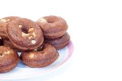 σοκολάτα donuts Στοκ Εικόνες